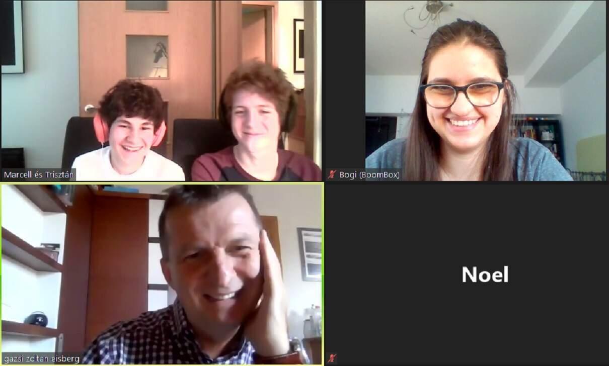 Online ötletelés a Boombox csapatával