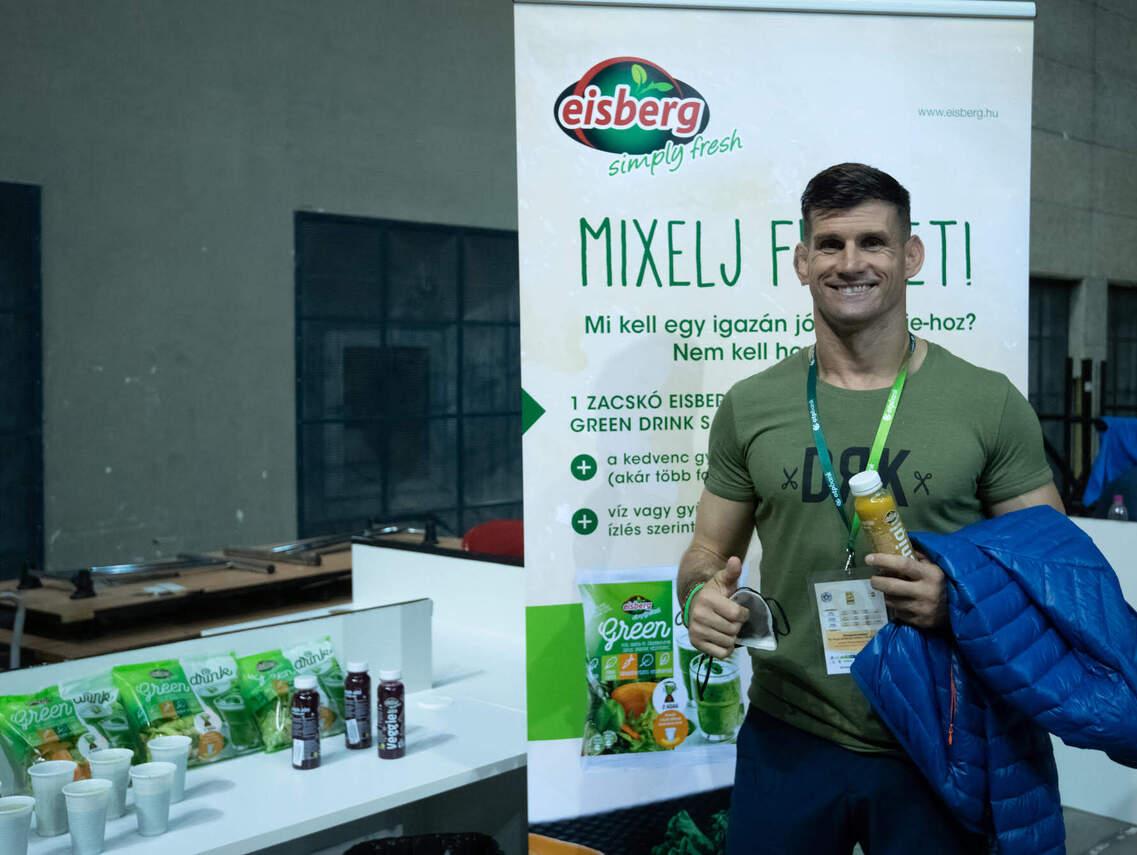 120 liter zöldturmix adott energiát a sportolóknak