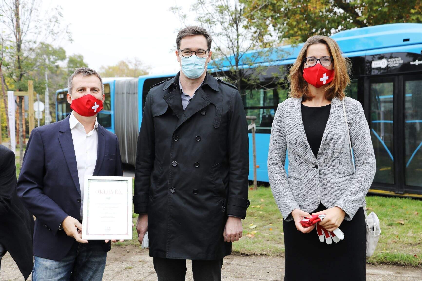 Gazsi Zoltán és Szalai Judit, Karácsony Gergely főpolgármesterrel