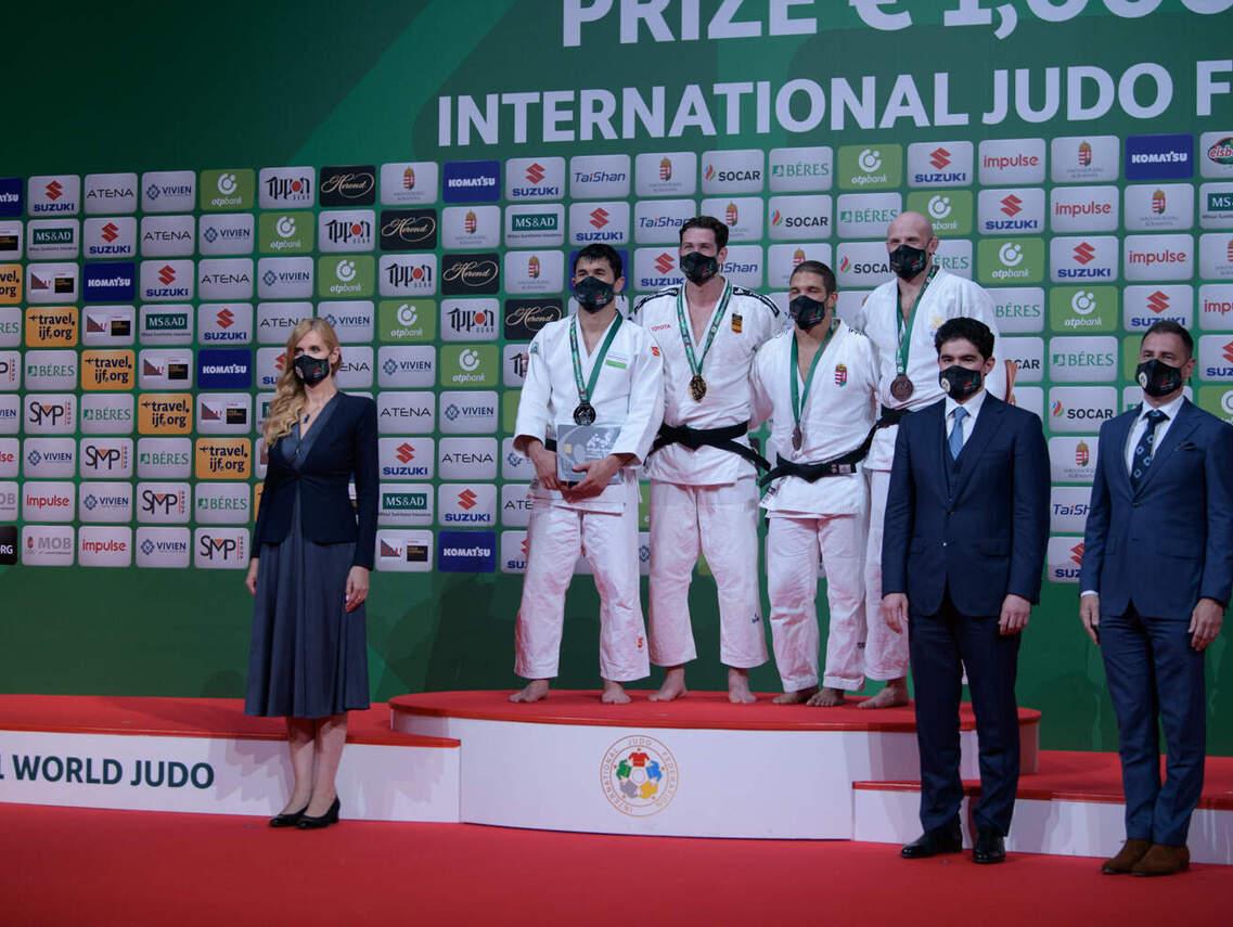 A VB legeredményesebb magyar versenyzője Tóth Krisztián lett, aki 90 kg-ban szerzett bronzérmet. Nagy kincs ez a hazai cselgáncséletnek, hisz hét évet vártak egy világbajnoki éremre.